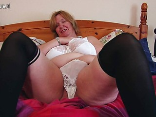 big ass mature Russian tits and