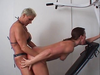 from Adrian anal strap on tube