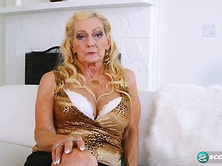 50 yo blonde mature lady hot sex pov - 1 part 8