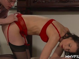 German bbw licked and fucked